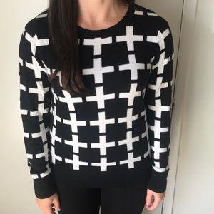 Target Merona Cross Sweater